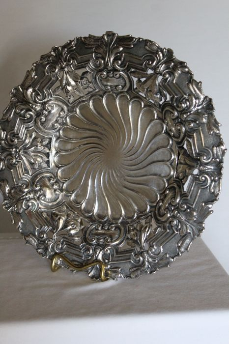 Silver 800/1000 centrepiece - Italy - first half of 20th century