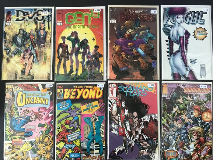 Collection Of Various Comics - Image - 80 x SC Comics - Brossura - Prima Edizione