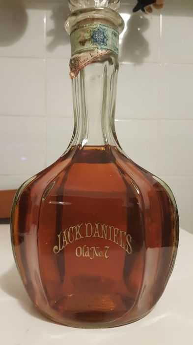 Jack Daniel's Inaugural Decanter Tennessee Whiskey Corked Cap 150cl 43% Import Soffianto 1984