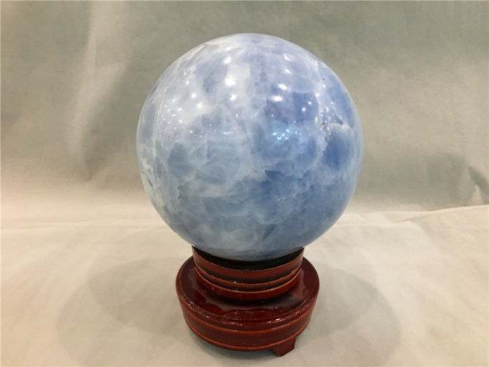 Blue Calcite Esfera - 110mm - 3080 g