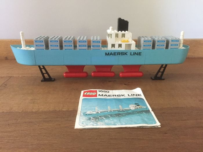 Promotional - 1650 - Maersk Line Container Ship
