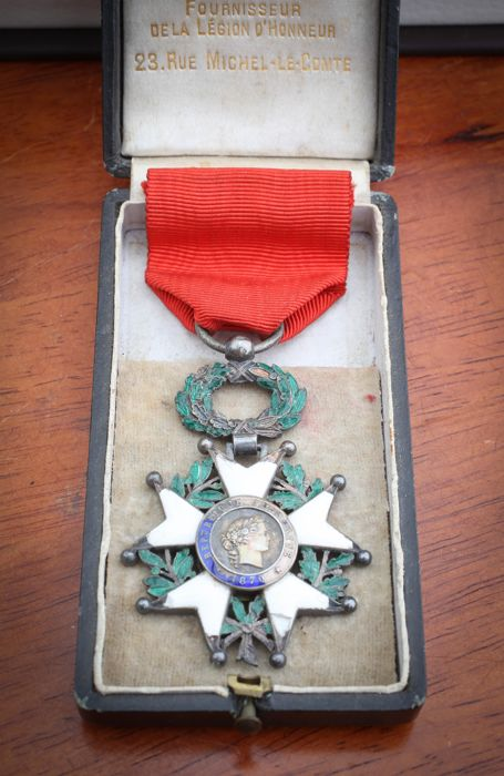 France - Medal of Knight of the Legion of honour - 3rd Republic
