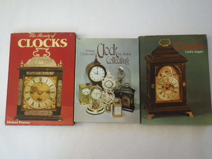 A lot of five books on clocks and horological history 1968-1978