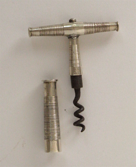 Silver corkscrew, the Netherlands, ca. 1865