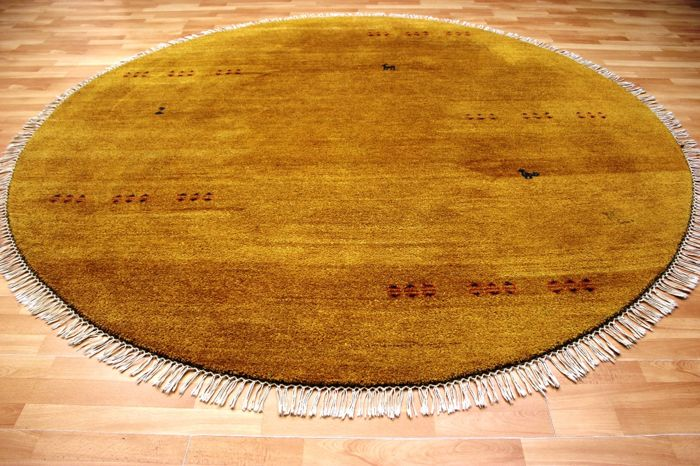 Round Indian Gabbeh diameter 235 cm