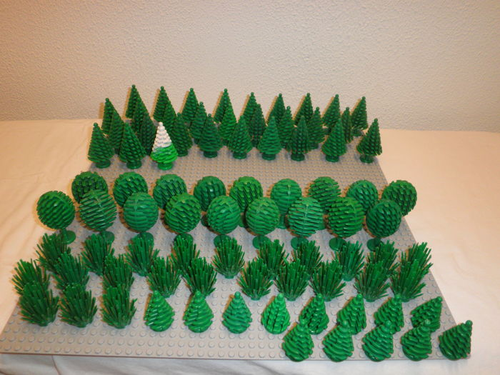 Assorted - 84 pieces of trees