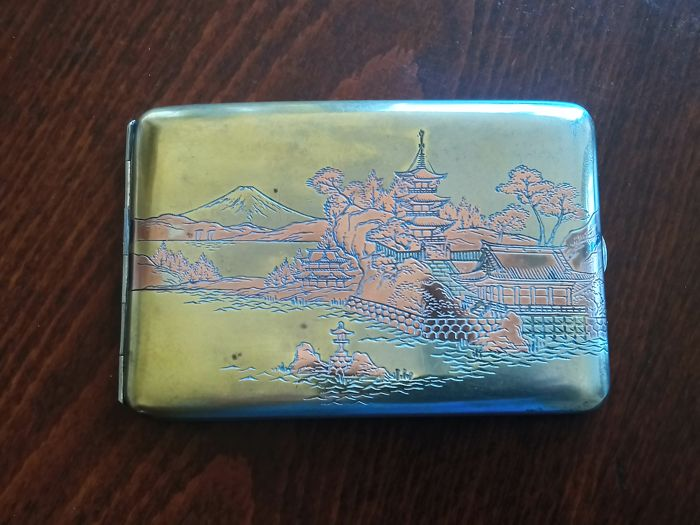 Japanese cigarettes case