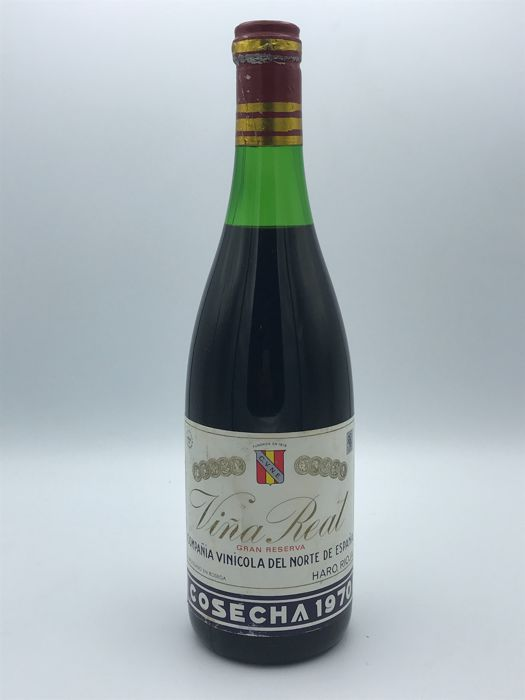 1970 Viña Real Gran Reserva, Rioja - 1 Bottle 75cl