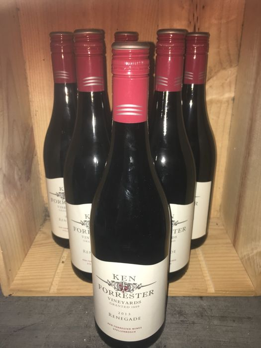 2013 Renegade Ken Forester Vineyards - Stellenbosch - South Africa x 6 bottles