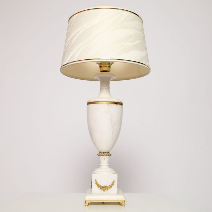 Large Gold-plated Neoclassical Style Urn or Vase Table Lamp, 2nd half 20th century