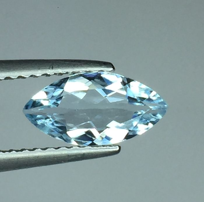 Aquamarine - 0.79 ct - no reserve price