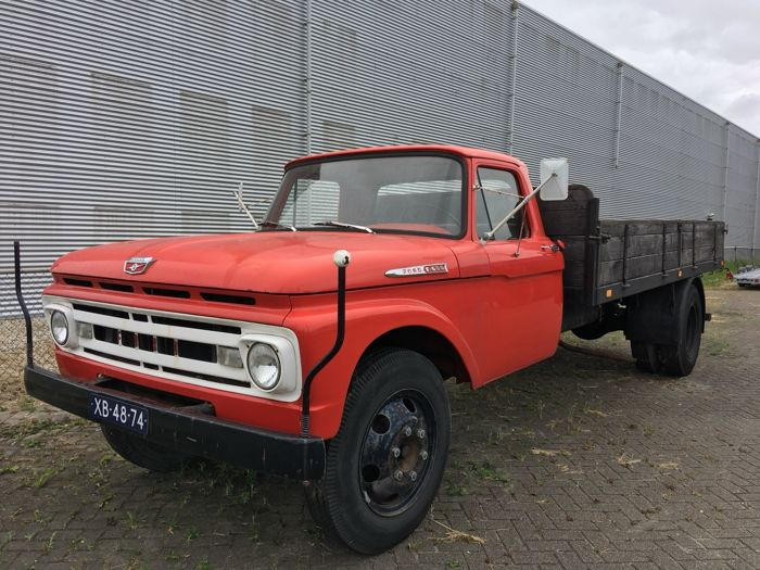 Ford USA - F-600 - 1964