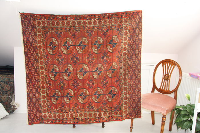 Antique Tekke Turkmen rug 150  x 130cm