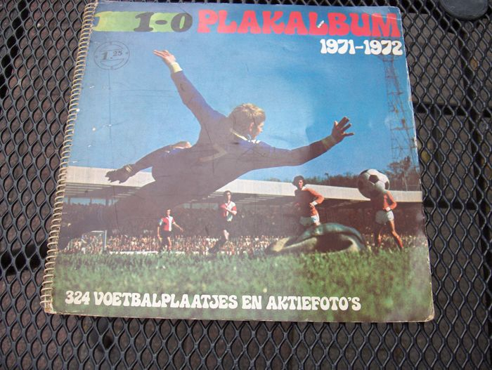 Variant of Panini - Voetbal Weekblad 1-0 1971/72 - Complete album