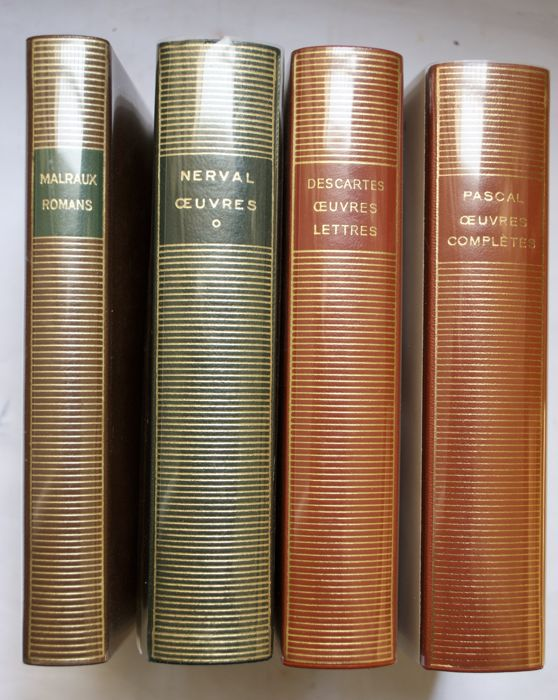 Pléiade - Lot avec 4 volumes - 1960/1980
