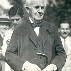 Unknown/Pacific & Atlantic Photos - Thomas Edison, 'Eighty three years young', Fort Myers, Florida, 1930