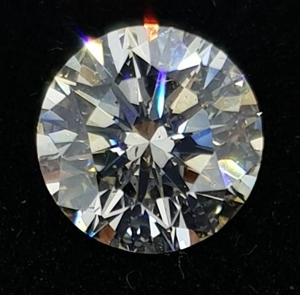 IGI CERTIFIED, SEALED, BRILLIANT CUT, 1.21 CT, J, SI2, IDEAL CUT