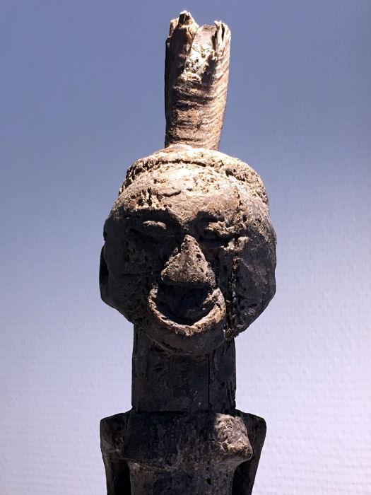 """Powerful and ancient """"nkisi"""" figurine - SONGYE - D.R Congo"""