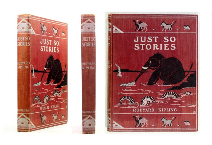 Rudyard Kipling - Just So Stories - 1902