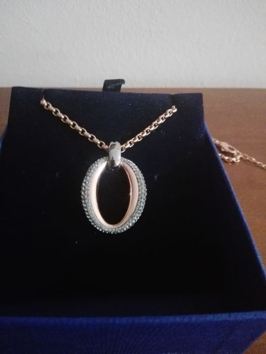Swarovski necklace and ring