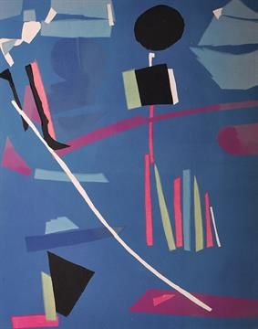 Andre Lanskoy - Abstract Composition