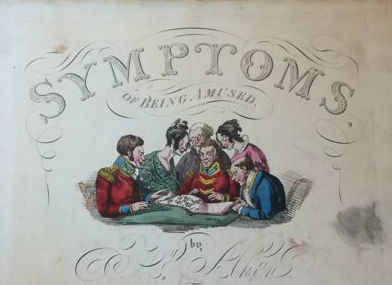 H. Alken - Symptoms of being Amused - 1822