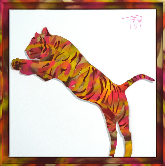 Truteau - The Tiger (Pink)
