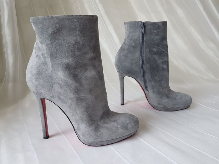 wholesale dealer 25a10 18d3a Christian Louboutin - Suede ankle boots - Catawiki