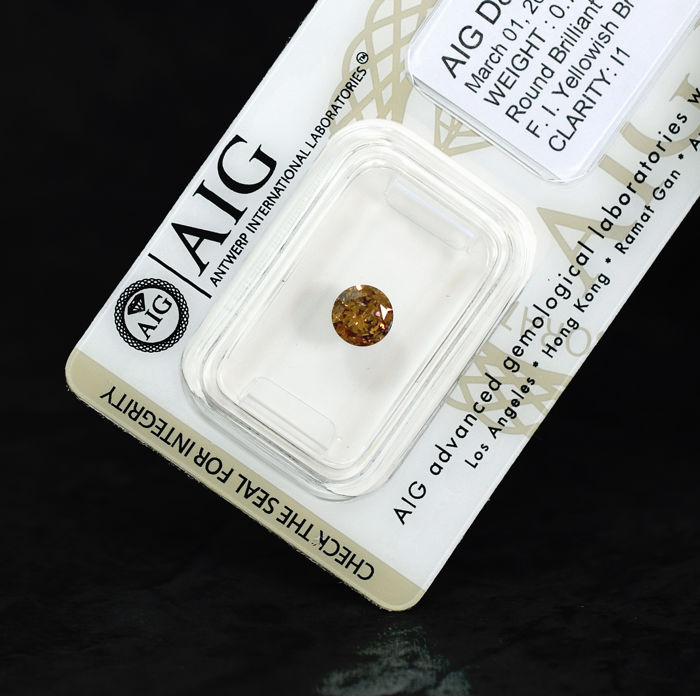 Champagne Diamond - 0.70 ct