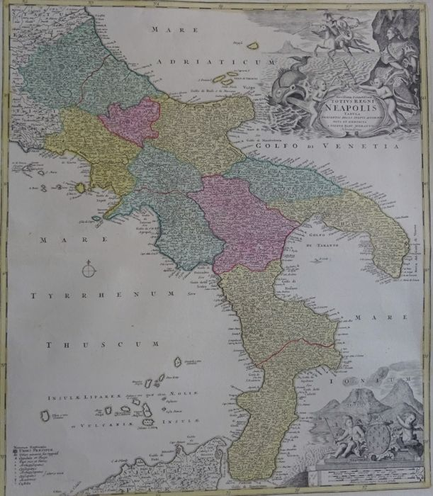 Italy, Southern Italy, Kingdom of Naples; Homann - Novissima & Exactissima on italian wars map, sardinia map, venice map, papal states, germany map, milan map, united kingdom, papal states map, kingdom of sardinia, paria peninsula map, saxe-weimar map, kingdom of italy, great britain map, house of savoy, crown of aragon, constantinople map, kingdom of prussia, two sicilies map, swedish pomerania map, republic of genoa, moldavia map, frankish empire map, ottoman empire map, joachim murat, republic of venice, confederation of the rhine, house of bourbon, italian unification, scotland map, italian peninsula map, italian social republic map, brazil map, byzantine empire map, sicilian vespers, kingdom of the two sicilies, kingdom of sicily,
