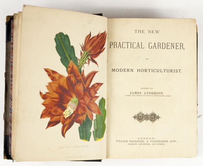 James Anderson - The New Practical Gardener - [ca. 1874]