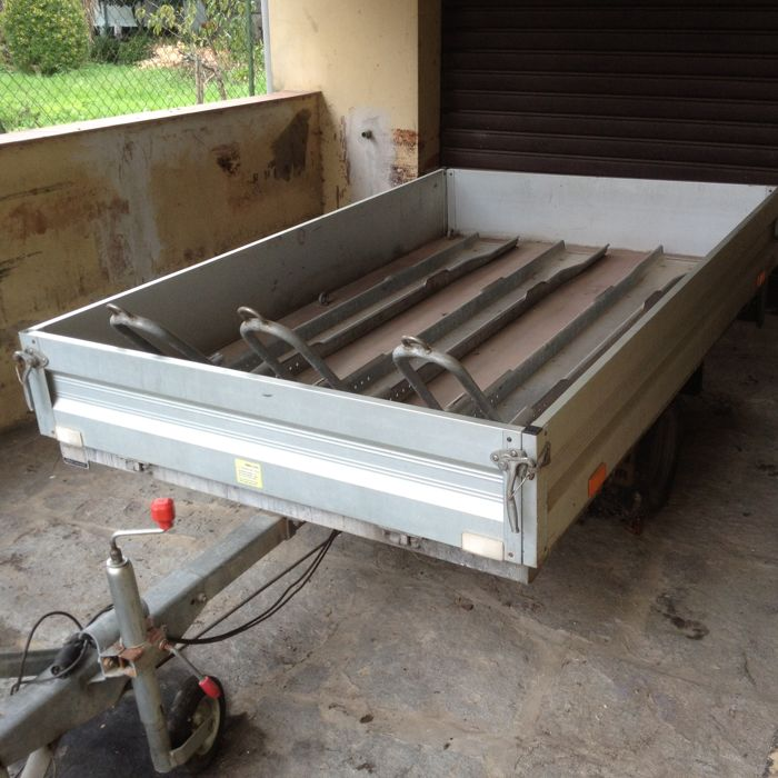 trailer for motorcycles - Carrello HUBER - 2000 (1 items)