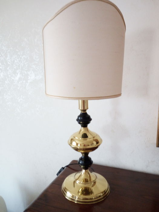 By Fae - Table lamp in silver plate