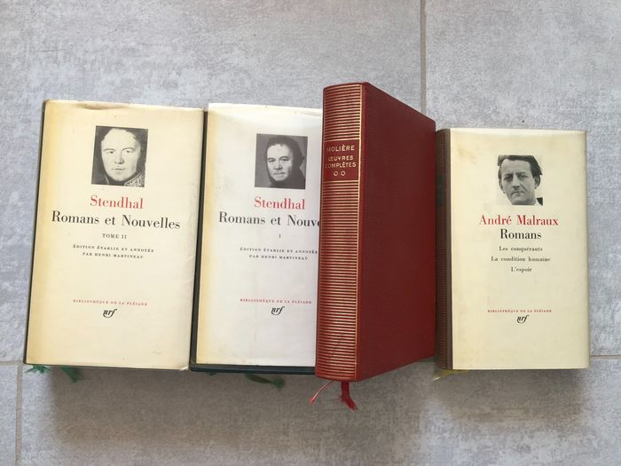 Pléiade - Lot avec 4 volumes - 1956/1972