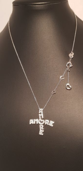 Pasquale Bruni - 'Amore' necklace with diamonds for 0.92 ct