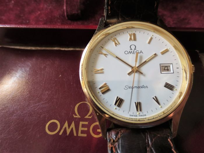 Omega - Seamaster quartz - massief gouden - Men - 1980-1989