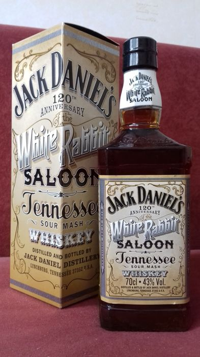 "Jack Daniel""s 120th anniversary of the White Rabbit Saloon."