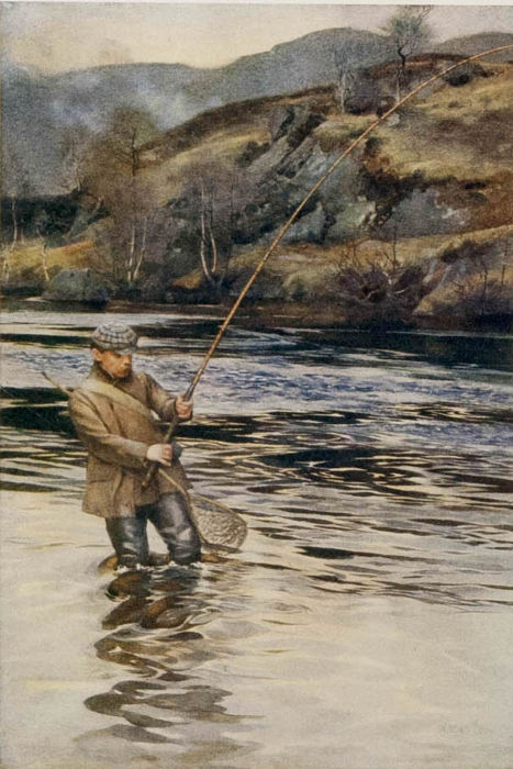 W. Shaw Sparrow - Angling in British Art  - 1923