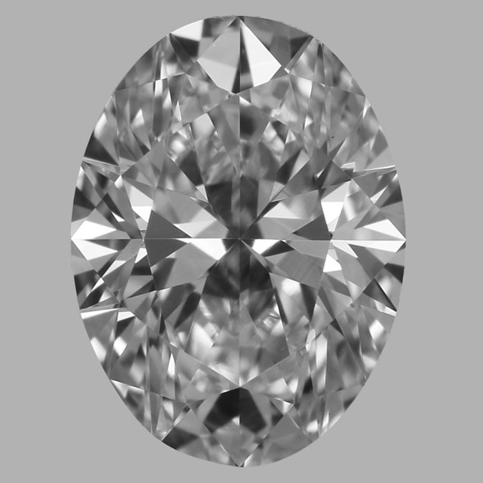 0.70 ct Oval brilliant diamond D VS2 with GIA # 1192455199