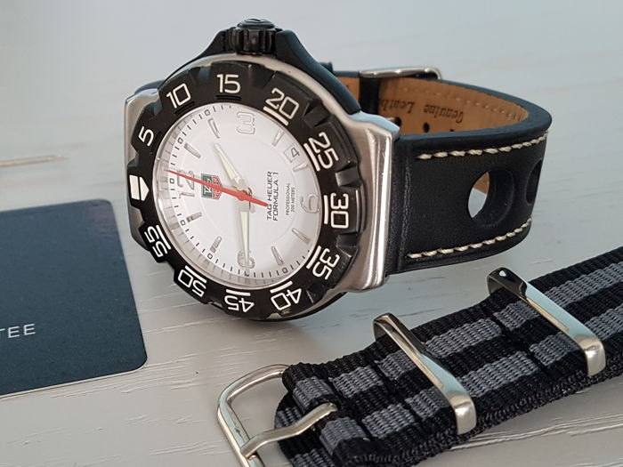 TAG Heuer - formula one f1  full size + free spectre strap - Heren - 2011-heden