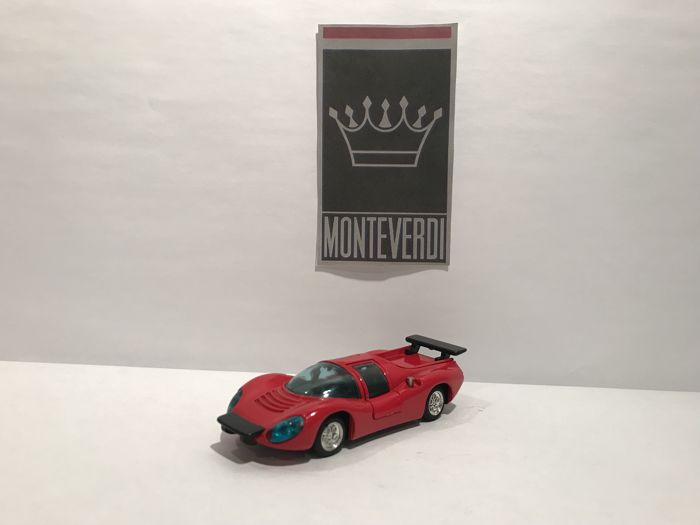 Marushin - Scale 1/43 - Ferrari Dino - Made in Japan