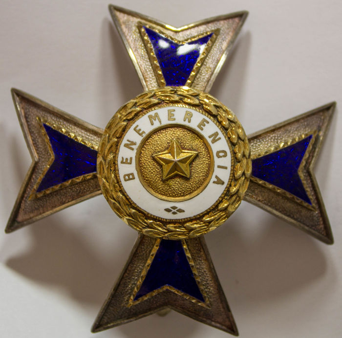 Portugal, Order Of Merit Grand Cross Star, 1st Class