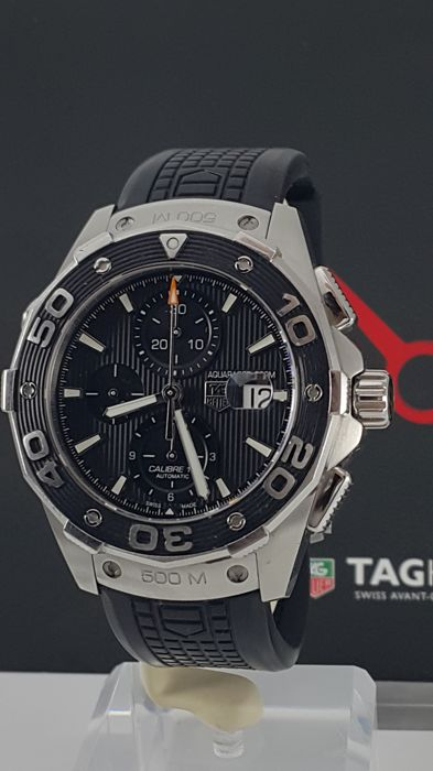972cb052939 TAG Heuer - Aquaracer Calibre 16 500m - CAJ2110.FT6023 - Men - 2017 ...
