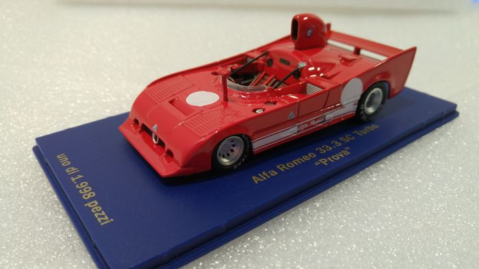 """Other - Other - M4 - Schaal 1/43 - Alfa Romeo 33.3 SC Turbo """"Prova"""" 1977 - Limited Edition"""