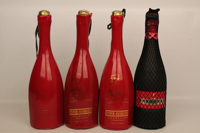 Champagne Piper-Heidsieck Cuvée Jean-Paul Gauthier - 4 bottles in original packaging