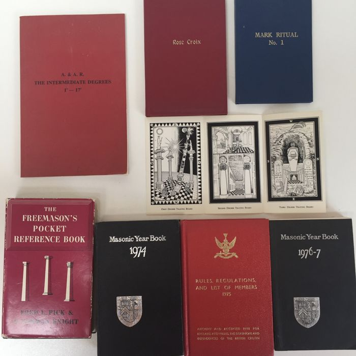 Freemasonry - book collection