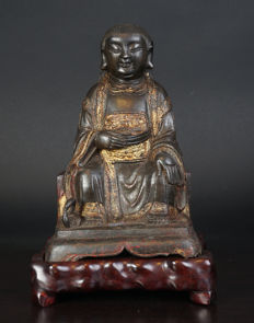 Bronze Buddha - China - Ming period (1368-1644)