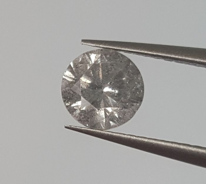 0.50 ct, Color : G, SI3 , round brilliant natural diamond, European Seller