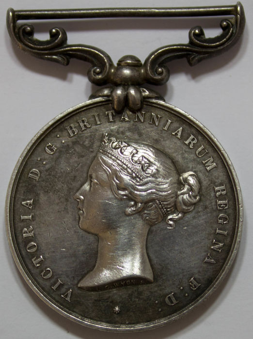 Groot-Brittannië - Sea Gallantry Medal (Foreign Services)  1858 - Zilver