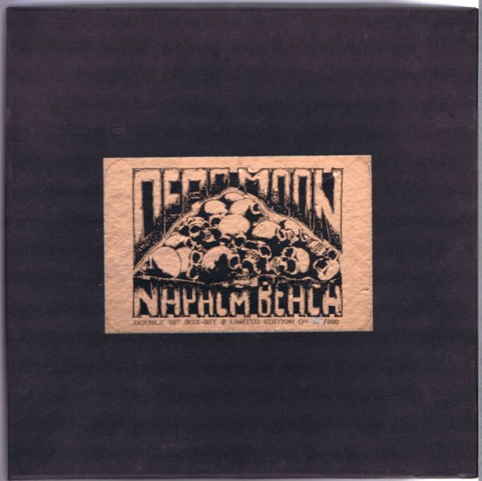 "Dead Moon / Napalm Beach - Live From Beyond / Rumblin' Thunder - (Lot of 2x 10"" Limited Edition 33,3RPM Box-set) - 1991/1991"